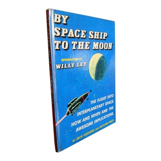 1950s Vintage By Space Ship to the Moon Book by Jack Coggins & Fletcher Pratt For Sale