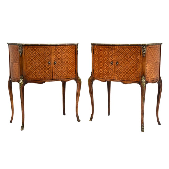 French Louis XVI-Style Commodes - A Pair - Image 1 of 10
