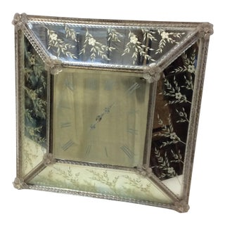 Vintage Venetian Wall Clock For Sale