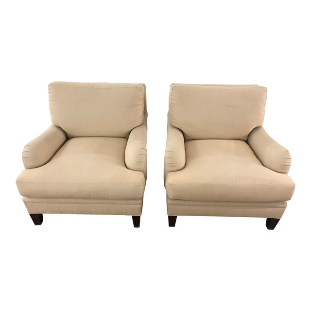 Baker Simmons Chairs - a Pair For Sale