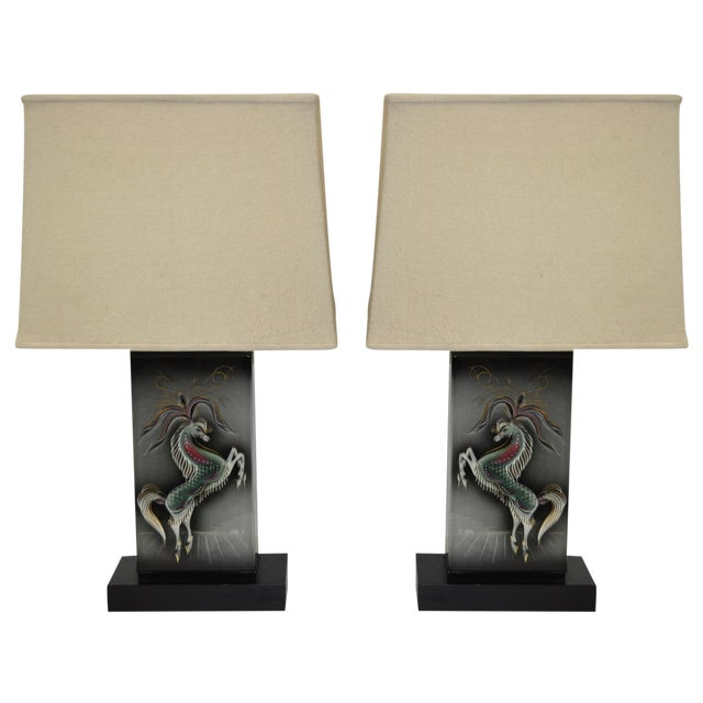 Sascha Brastoff Mid-Century Modern Lamps - Image 1 of 10