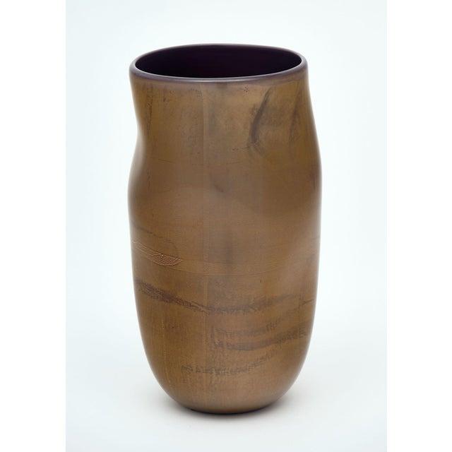 """Alberto Donà Murano Glass """"Cartoccio"""" Vases For Sale - Image 4 of 7"""
