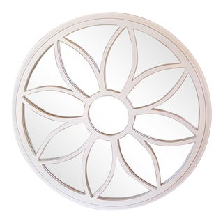 White Round Mirror For Sale