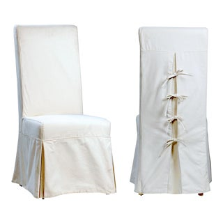 Slip Cover Dining Chair For Sale