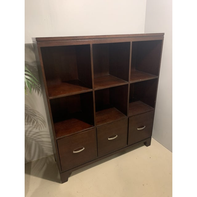 Ethan Allen Cabinet with File Drawers For Sale In Boston - Image 6 of 6