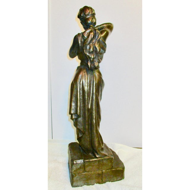 Emmanuel Villanis French Chained Slave Sculpture For Sale - Image 5 of 7