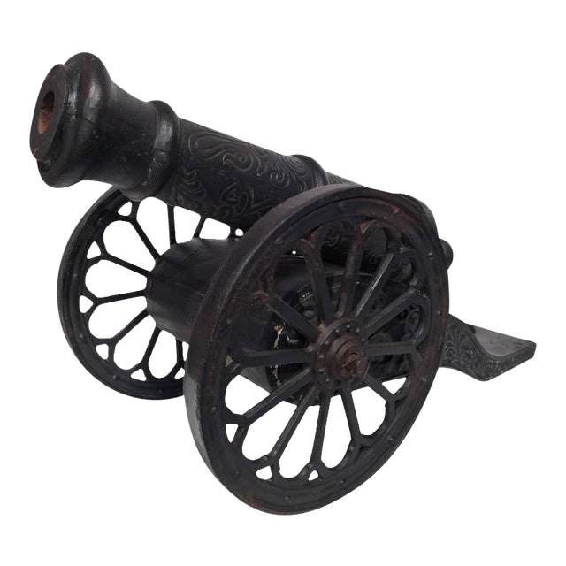 18th Century French Iron Canons - a Pair For Sale