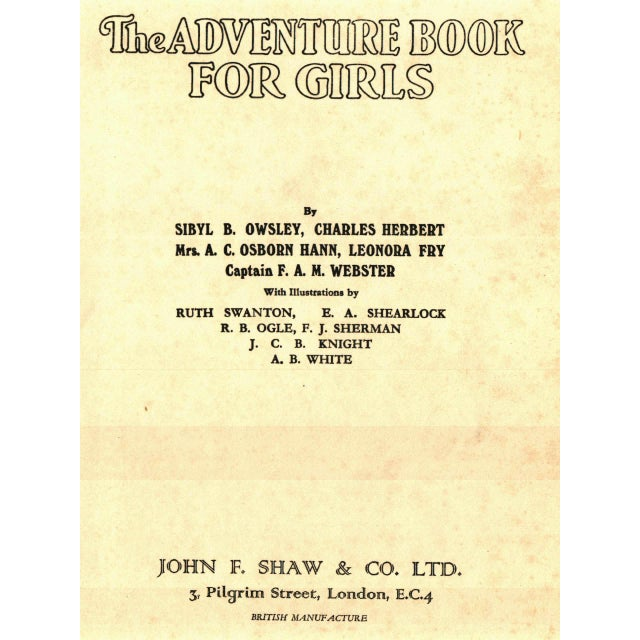 The Adventure Book For Girls For Sale - Image 4 of 4