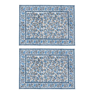 Anna Blue Placemats - a Pair For Sale