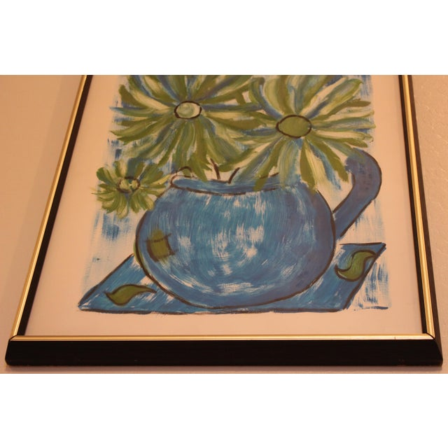 Francois Paris Mid-Century Original Still Life Painting - Image 7 of 11