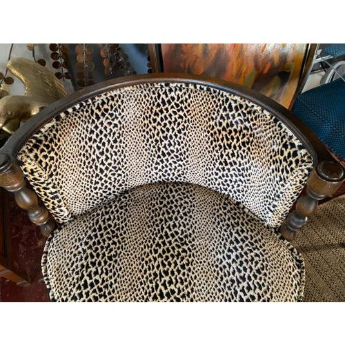 Mid Century Leopard Chair For Sale In New York - Image 6 of 7