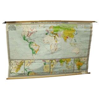 Die Welt Seit Beginn Der Britischen Vorherrchaft Zut Map, 1763 For Sale