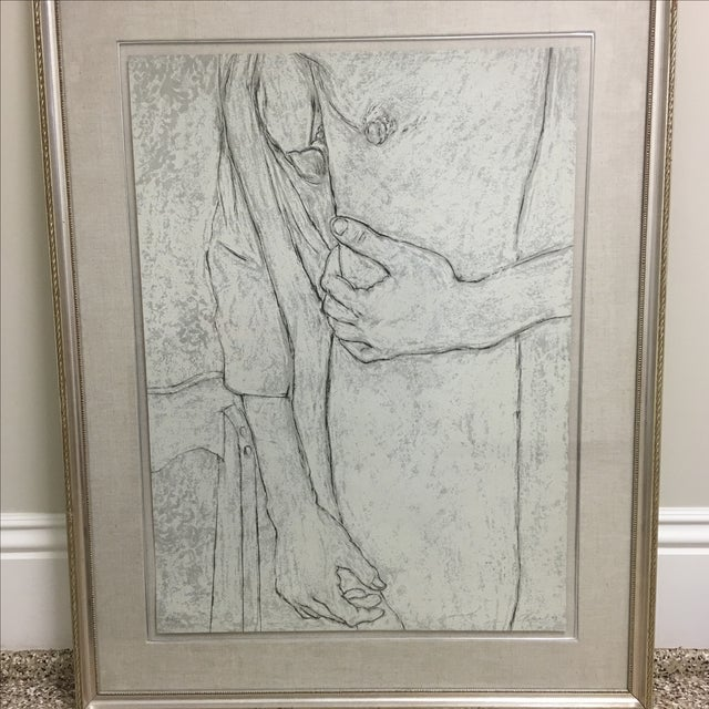 "George Segal ""The Robe"" Lithograph - Image 3 of 8"