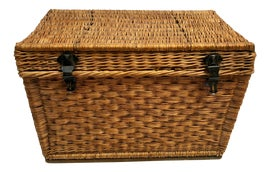 Image of Wicker Trunks and Blanket Chests