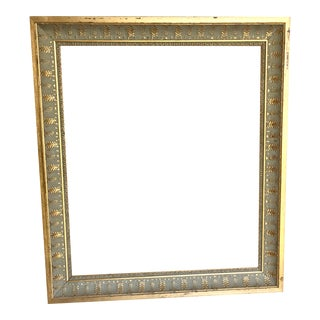 French Provincial Gold Silver Frame