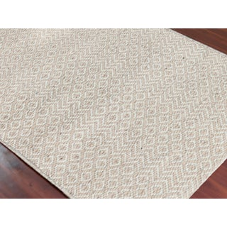 Bella Modern Ivory Hand-Woven Rug 8'x10' Preview