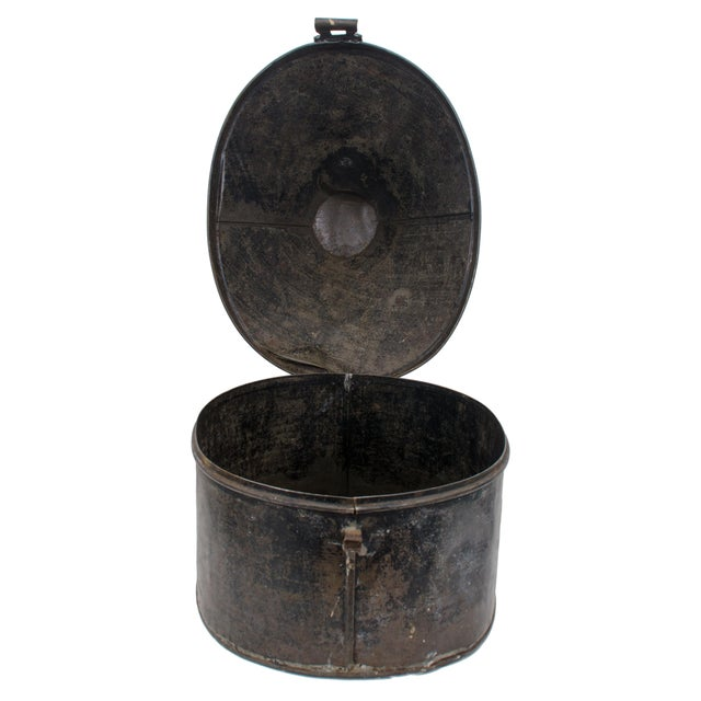British Army Edwardian Hat Case For Sale - Image 9 of 11