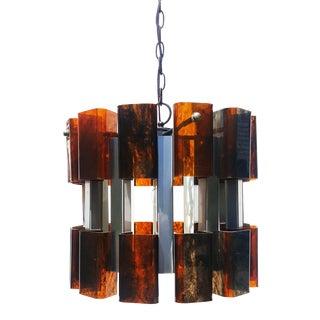 Mid Century Modern Ceiling Light / Chandelier For Sale