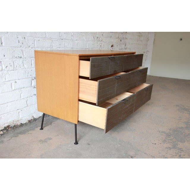 Raymond Loewy for Mengel Mid-Century Modern Six-Drawer Dresser For Sale In South Bend - Image 6 of 11