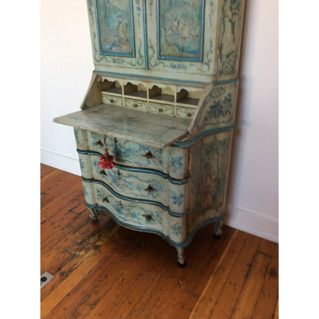 Antique Venetian Secretary - Image 4 of 9