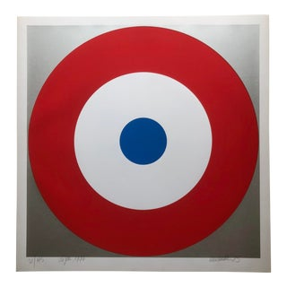 1975 Pop Art Chuck Smith Dijon Insignia Silkscreen For Sale