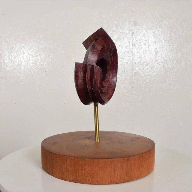 1980s Modern Bronze Sculpture by Sebastian, Enrique Carbajal Gonzalez For Sale - Image 5 of 10