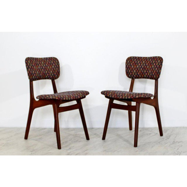 Danish Modern Mid-Century Modern Arne Hovmand Olsen Danish Teak Dining Chairs - Set of 6 For Sale - Image 3 of 10