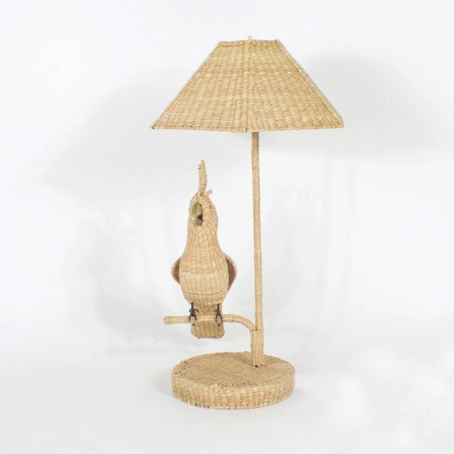 Mario Torres Cockatoo Table Lamps - A Pair For Sale In West Palm - Image 6 of 8