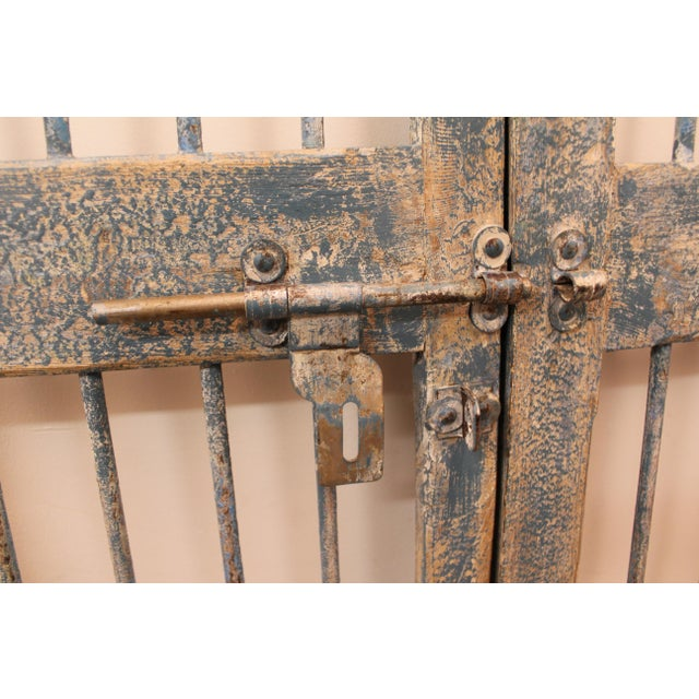 Reclaimed Architectural Wrought Iron Doors - A Pair - Image 7 of 11