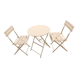 Modern Finnhomy White Bistro Set For Sale