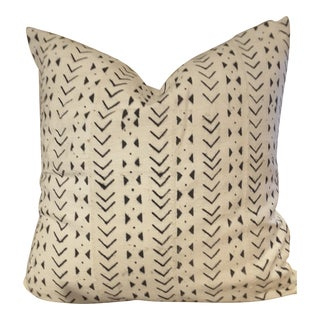 African Mudcloth Down Pillow
