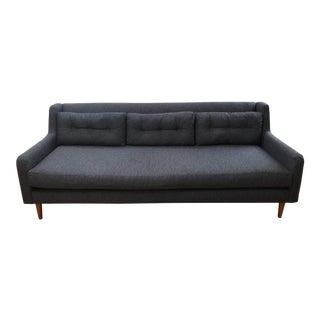 West Elm Blue-Grey Crosby Sofa