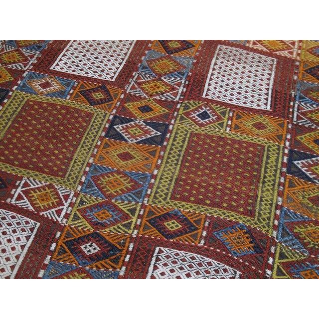 "Textile Southeast Anatolian ""Jijim,"" Long Rug For Sale - Image 7 of 9"