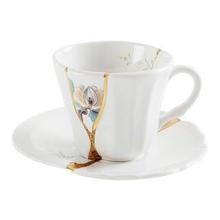 Seletti, Kintsugi Espresso Cup and Saucer 3, Marcantonio, 2018 For Sale