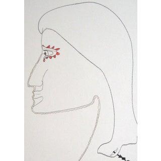 Michael DI Cosola Late 20th Century Surrealist Portrait Late 20th Century For Sale