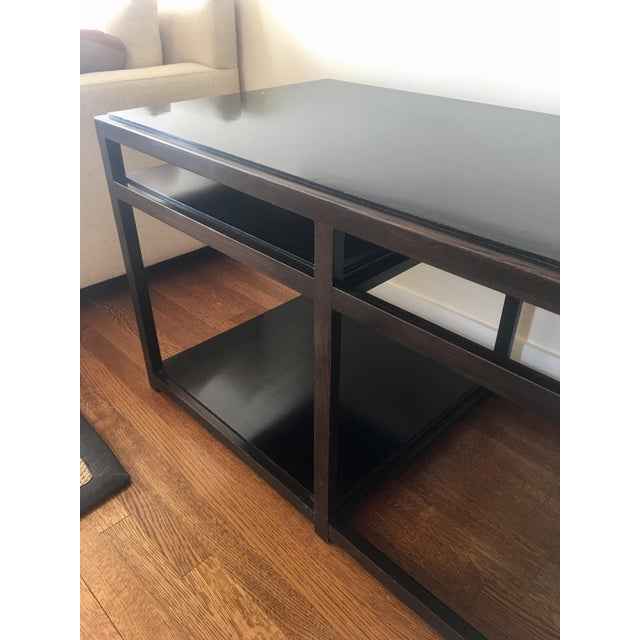 1950s Mid-Century Modern Dunbar Edward Wormley Architectural Console Table For Sale In Chicago - Image 6 of 8