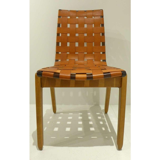 Mid-Century Modern Set of Six Abel Sorenson Chairs for Knoll For Sale - Image 3 of 9