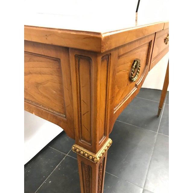 Hidden Dressing Table ~ Lovely henredon vanity dressing table desk with hidden