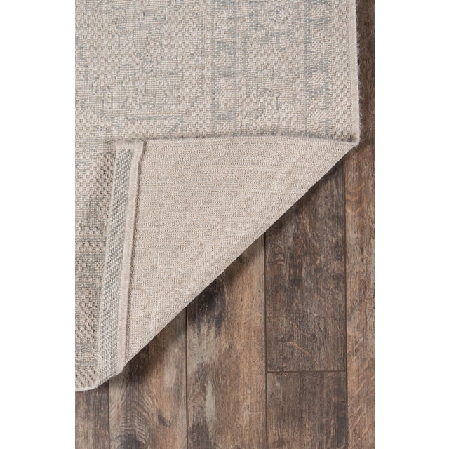 "Erin Gates Downeast Boothbay Grey Machine Made Polypropylene Area Rug 6'7"" X 9'6"" For Sale In Atlanta - Image 6 of 10"