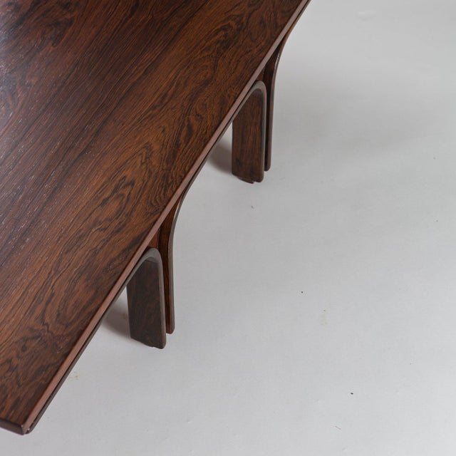 Wood Coffee Table by Gianfranco Frattini for Bernini For Sale - Image 7 of 11
