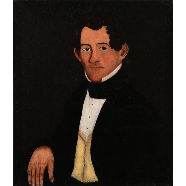 Antique Oil Painting Prior-Hamblin School Portrait of a Gentleman Oil on canvas in the style of William Matthew Prior and...