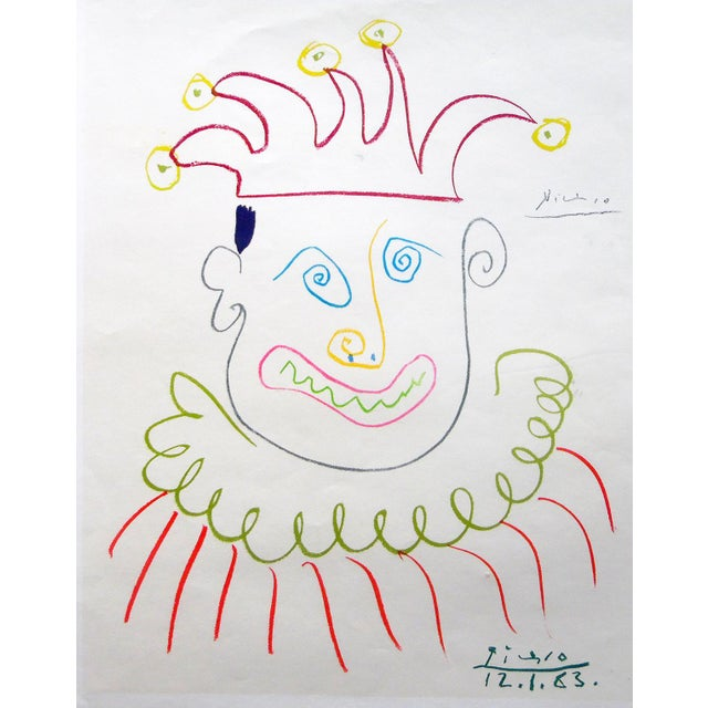 1960s Picasso Grosvenor Gallery, London 1967 Ed. 150 Signed For Sale