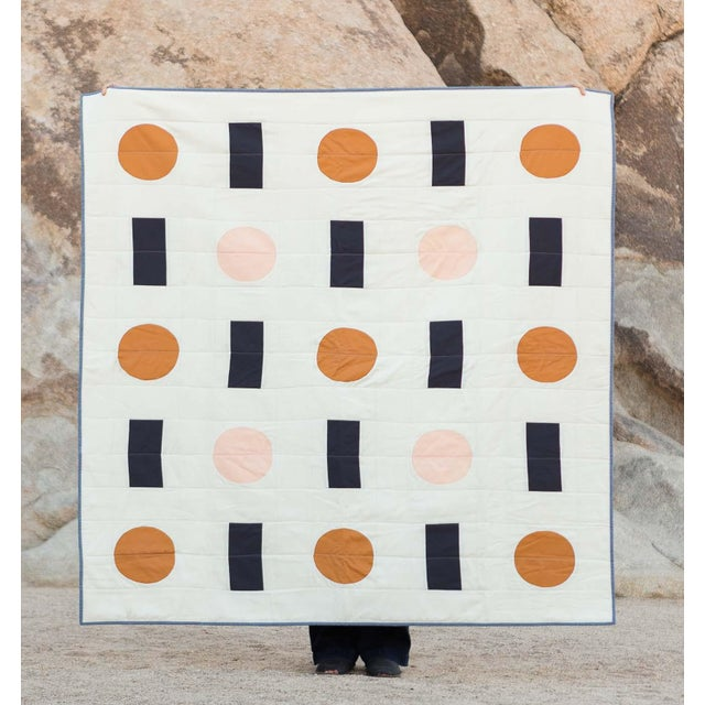 Trans Pecos Throw Quilt For Sale - Image 5 of 5