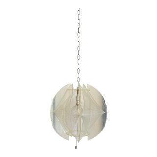 Paul Secon for Sompex Lucite and Nylon Fishing Line Pendant Lamp For Sale