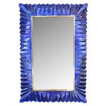 Murano Glass Framed Mirror