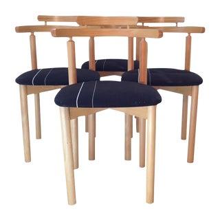 Findahls Møbelfabrik 4 Danish Dining Chairs