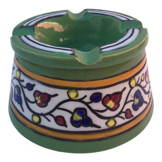 Vintage 1960's French Pottery Ashtray For Sale