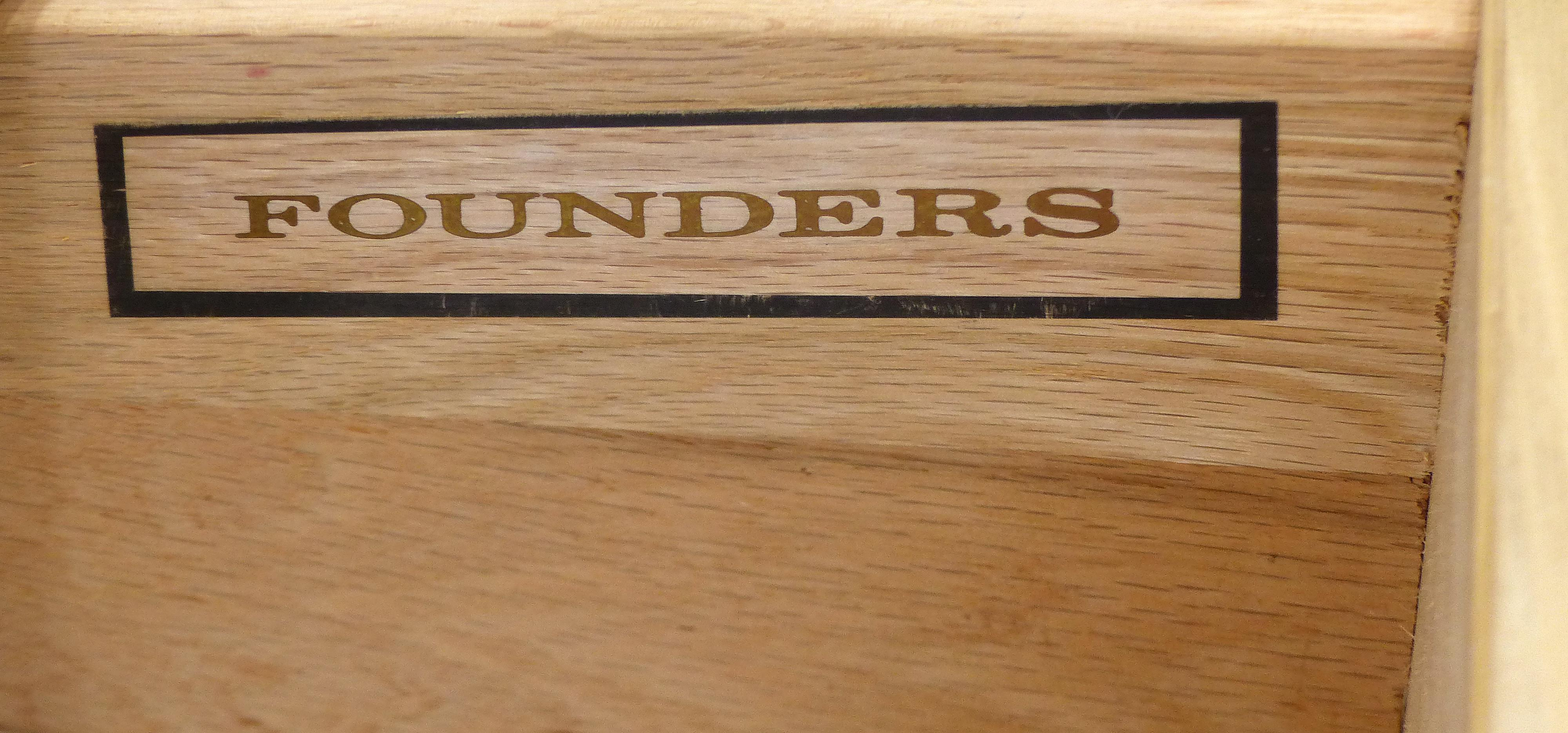 Mid Century Maple Dresser By Jack Cartwright For Founders Furniture   Image  6 Of 8