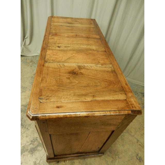 Brown Early French Walnut 19th Century Directoire' Buffet For Sale - Image 8 of 11