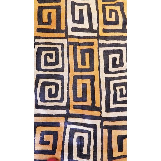 African 1970s Bushoong Kuba Cloth For Sale - Image 3 of 6